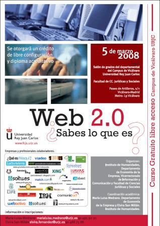 cartel seminario Web2.0