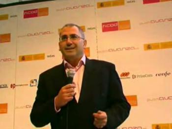 Entrevista a Jorge Mata en FICOD