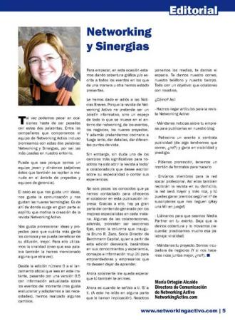 Networking y Sinergias