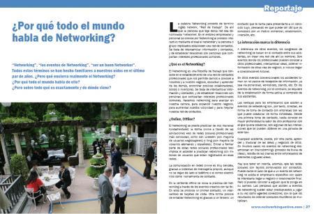 Por que todo el mundo habla de networking1