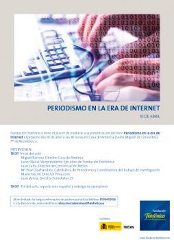 """""""Periodismo en la Era de Internet"""""""