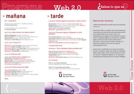 Programa curso Web2.0