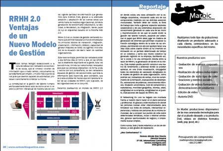 RRHH 2.0 Ventajas de un Nuevo Modelo de Gestión