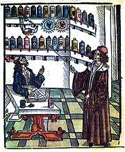 Médico y Farmaceútico. Wikipedia.