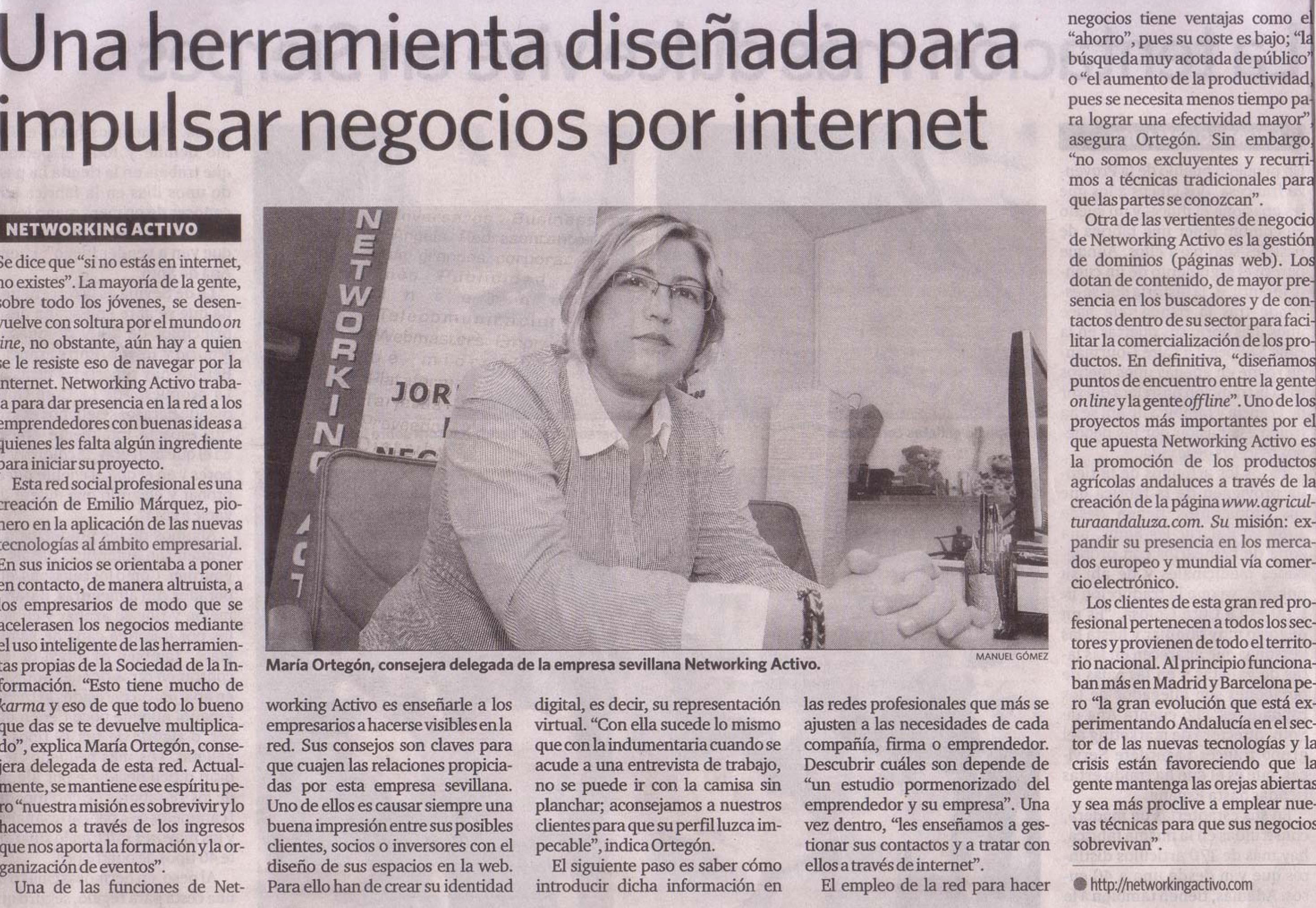 Diario de Sevilla (Edición 17/09/2009).