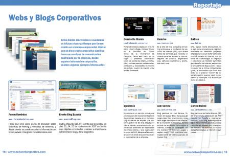 Webs y blogs corporativos-I