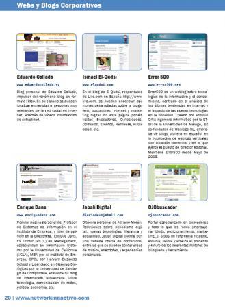 Webs y blogs corporativos-II
